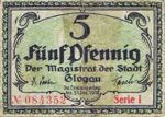 Germany, 5 Pfennig, G20.1b