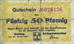 Germany, 50 Pfennig, I3.1a