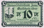 Germany, 10 Pfennig, J6.1