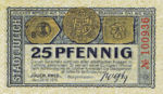 Germany, 25 Pfennig, J10.3d