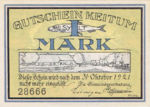 Germany, 1 Mark, 685.3