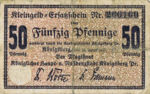 Germany, 50 Pfennig, K33.2