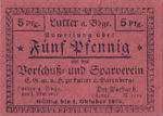 Germany, 5 Pfennig,