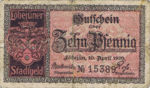 Germany, 10 Pfennig, L60.2a