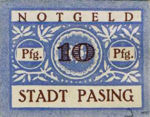 Germany, 10 Pfennig, P6.5d