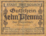 Germany, 10 Pfennig, R33.1