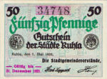 Germany, 50 Pfennig, R57.4b