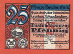 Germany, 25 Pfennig, R21.1d