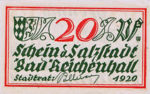 Germany, 20 Pfennig, R22.8