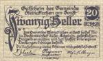 Austria, 20 Heller, FS 1017I