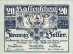 Austria, 20 Heller, FS 1077a
