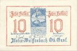 Austria, 10 Heller, FS 1101