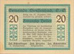 Austria, 20 Heller, FS 992b