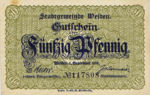 Germany, 50 Pfennig, W18.2b