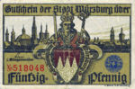Germany, 50 Pfennig, W65.5b