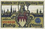 Germany, 50 Pfennig, W65.5b