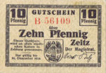 Germany, 10 Pfennig, Z4.1a