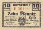 Germany, 10 Pfennig, Z4.1a