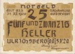 Austria, 25 Heller, FS 1091a