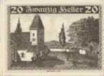 Austria, 20 Heller, FS 1132a