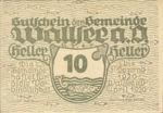 Austria, 10 Heller, FS 1137Ie