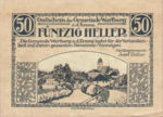 Austria, 50 Heller, FS 1141a