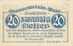 Austria, 20 Heller, FS 1167Ia