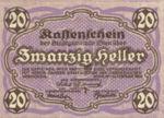 Austria, 20 Heller, FS 1183IId