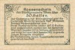 Austria, 50 Heller, FS 1183IIf