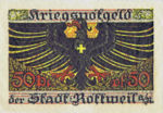 Germany, 50 Pfennig, R51.5