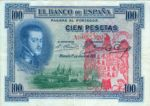 Spain, 100 Peseta, P-0069a - FRAUD