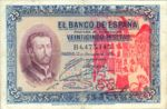 Spain, 25 Peseta, P-0071a - FRAUD