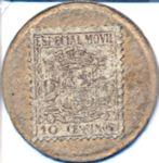 Spain, 10 Centimos, P-0096P