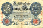Germany, 20 Mark, P-0046b F