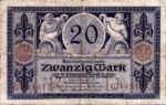Germany, 20 Mark, P-0063