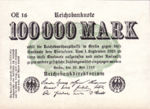 Germany, 100,000 Mark, P-0091b