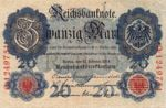 Germany, 20 Mark, P-0046b L