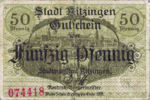 Germany, 50 Pfennig, K28.6