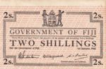 Fiji Islands, 2 Shilling, P-0050r1