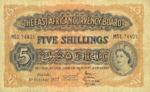 East Africa, 5 Shilling, P-0033 v5