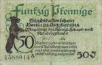 Germany, 50 Pfennig, B27.1c