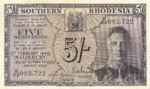 Southern Rhodesia, 5 Shilling, P-0008b