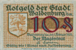 Germany, 10 Pfennig, W3.16