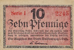 Germany, 10 Pfennig, W3.12a