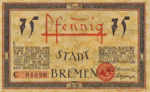 Germany, 75 Pfennig, 169.1