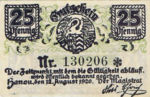 Germany, 25 Pfennig, H11.4d