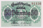 Germany, 50 Pfennig, K1.5b