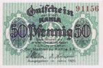 Germany, 50 Pfennig, K1.5b