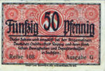 Germany, 50 Pfennig, D31.2b