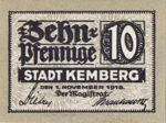 Germany, 10 Pfennig, K19.1b